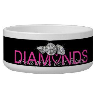 DIAMONDS are a girls best friend Bowl