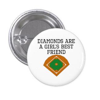 Diamonds Are A Girl's Best Friend Pin