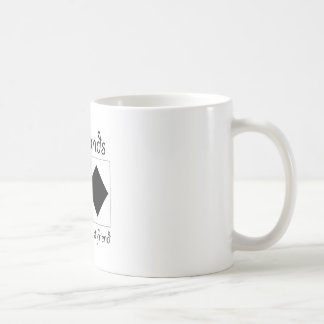Diamonds are a girls best friend coffee mugs