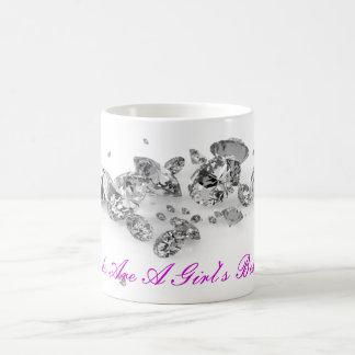 Diamonds Are A Girl's Best Friend Mug