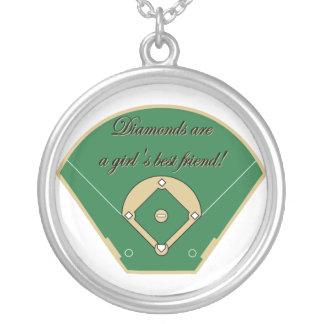 Diamonds are a Girls Best Friend Necklace