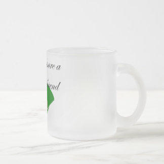 Diamonds are a girl's best friend T-shirts Frosted Glass Coffee Mug