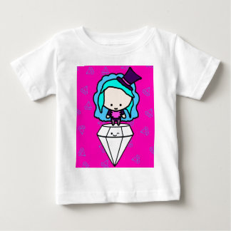 Diamonds are a girl's best friends (kawaii kids) baby T-Shirt