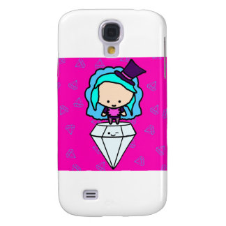 Diamonds are a girl's best friends (kawaii kids) samsung galaxy s4 covers