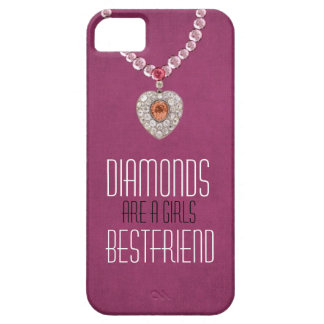 Diamonds Are A Girls BF. Bling iphone5 cases iPhone 5 Case
