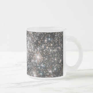 Diamonds Are Forever Frosted Glass Coffee Mug