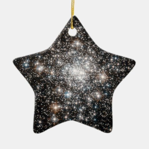 Diamonds Are Forever Double-Sided Star Ceramic Christmas Ornament