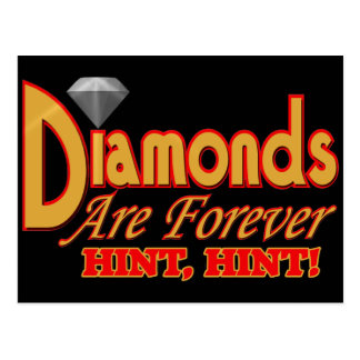 Diamonds Are Forever Post Cards