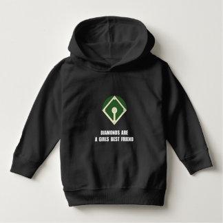 Diamonds Baseball Hoodie
