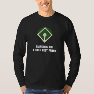 Diamonds Baseball T-Shirt