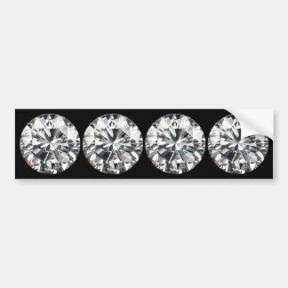 Diamonds Car Bumper Sticker