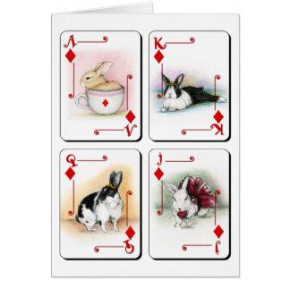 Diamonds Card