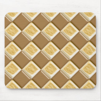 Diamonds - Chocolate Marshmallow Mouse Pad
