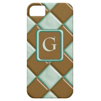 Diamonds - Chocolate Mint iPhone 5 Cover