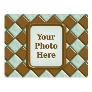 Diamonds - Chocolate Mint Postcard