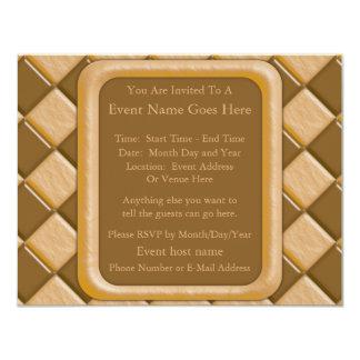 Diamonds - Chocolate Peanut Butter Card