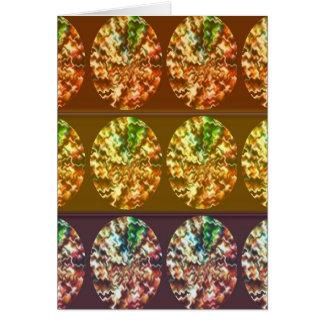 Diamonds Decoration Energy Pattern Greeting Card