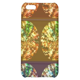 Diamonds Decoration Energy Pattern Cover For iPhone 5C