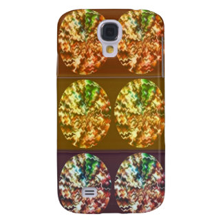 Diamonds Decoration Energy Pattern Samsung Galaxy S4 Case