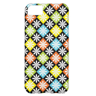 Diamonds floral colorful pattern iphone 5 case
