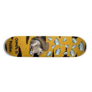 Diamonds For Winter Custom Skateboard