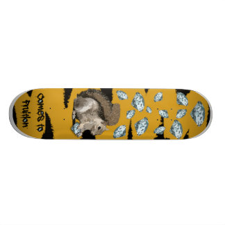 Diamonds For Winter Skateboard Deck