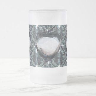 Diamonds Frosted Mug 16oz