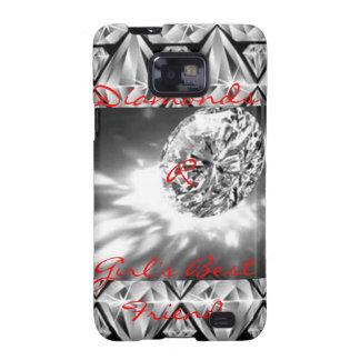 Diamonds Galaxy SII Case