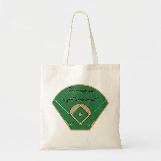 Diamonds Girl's best friend Tote Bag