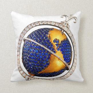Diamonds Globe SOFA BLING Throw Pillow