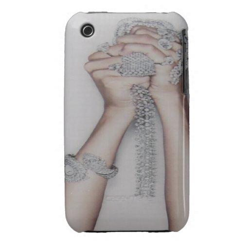 Diamonds in Hands Blackberry Curve Case