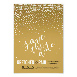 Diamonds in the Sky Wedding Save the Date | sand Card