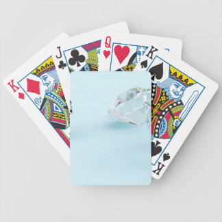 Diamonds-isolated-on-white1587 WHITE DIAMONDS LIGH Bicycle Playing Cards