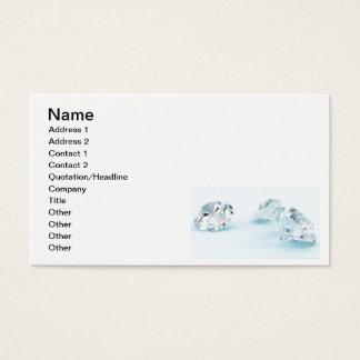 Diamonds-isolated-on-white1587 WHITE DIAMONDS LIGH Business Card