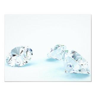 Diamonds-isolated-on-white1587 WHITE DIAMONDS LIGH Card
