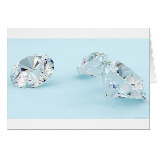 Diamonds-isolated-on-white1587 WHITE DIAMONDS LIGH Card