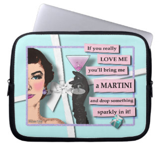 Diamonds & Martinis Electronics Bag