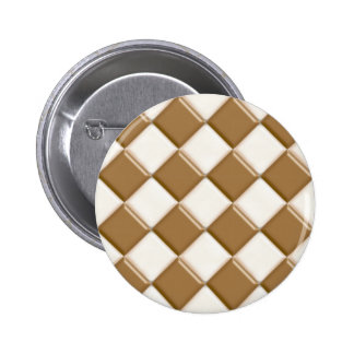 Diamonds - Milk Chocolate and White Chocolate Pin
