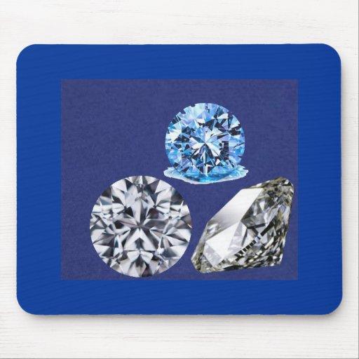 diamonds mouse pad