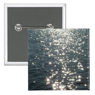 Diamonds on Lake Pontchartrain Button