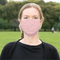 Diamonds pattern  adult cloth face mask
