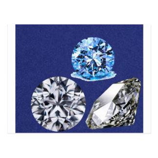 diamonds postcard