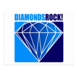 Diamonds Rock! Postcard