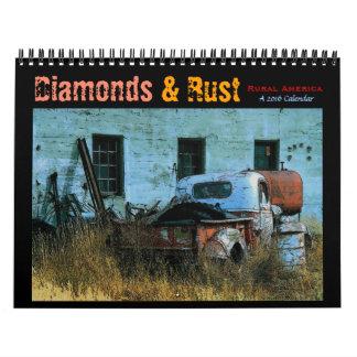 Diamonds & Rust: Rural America 2016 Calendar
