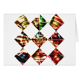 Diamonds Sparkle V1 - Red Cosmic Energy Cards