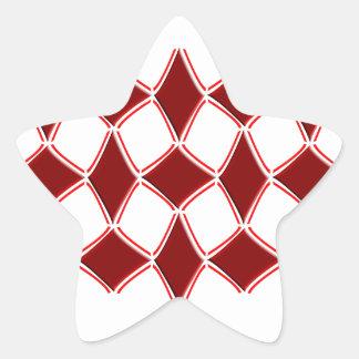 Diamonds Star Sticker