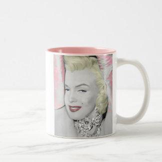 Diamonds Two-Tone Coffee Mug