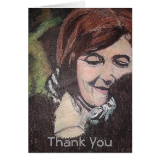 Dian Fossey Thank You - Customized Card