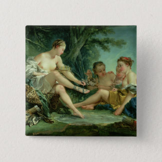 Diana after the Hunt, 1745 Button