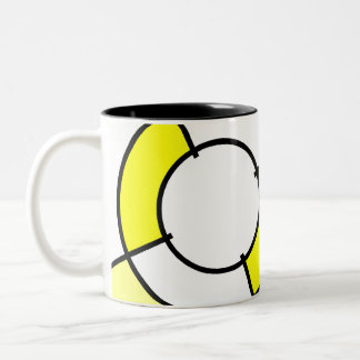 diana amarilla taza